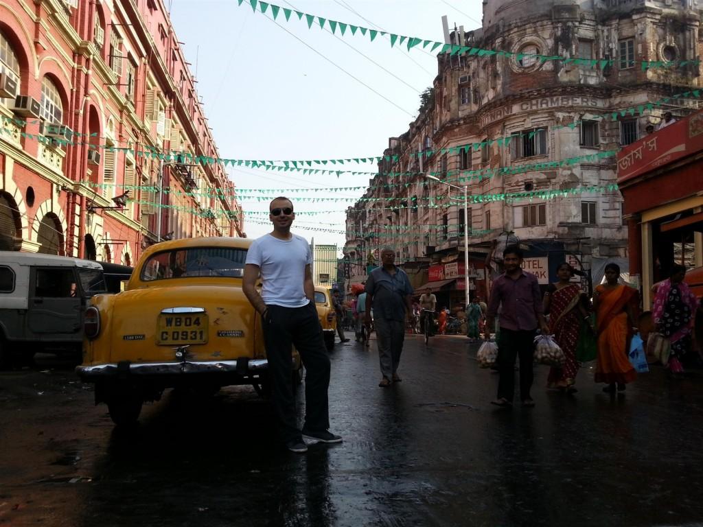 Kolkata'nın İngilizler döneminden kalan heybetli ve güzel binaları.