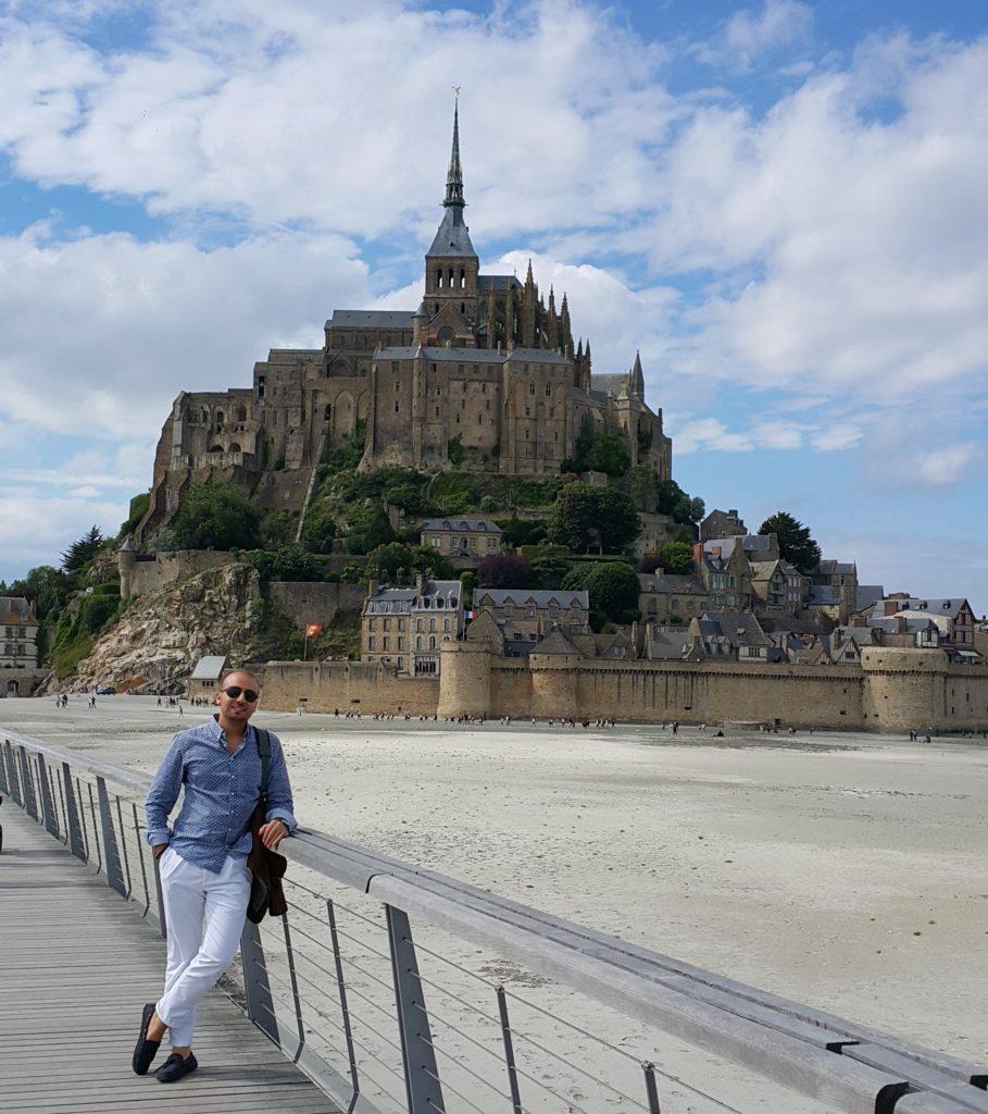 Mont Saint Michel, Fransa