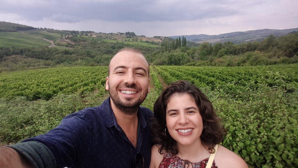 Kendi ismini verdiği meşhur şaraplarıyla ünlü olan Chianti bölgesinin üzüm bağları ve suratlardaki ifade :)