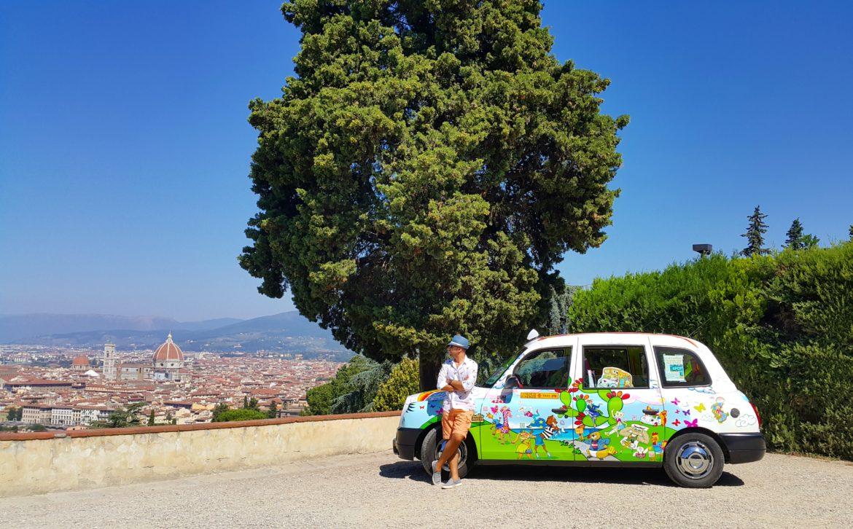 San Miniato Al Monte'den Floransa manzarası