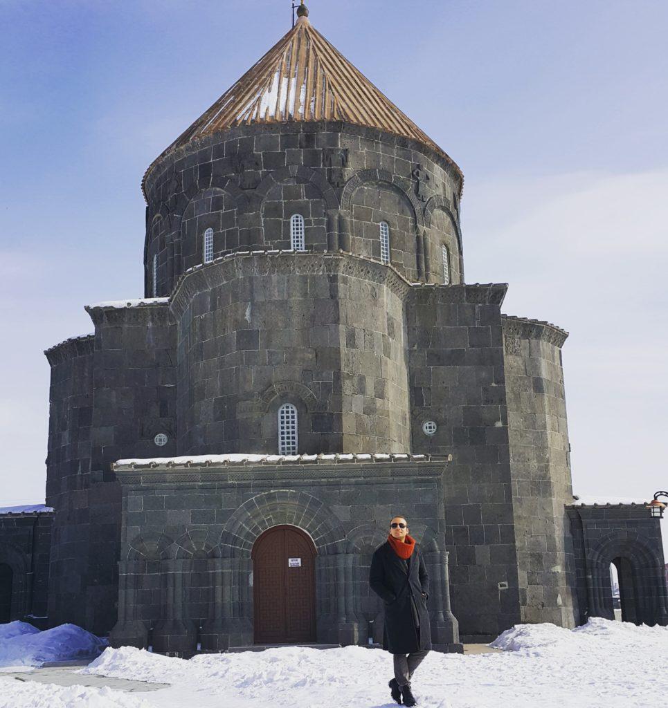 Kars'taki en güzel yapılardan 12 Havariler Kilisesi (Kümbet Camii)