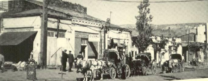 Malakanlar zamanında Kars'tan bir cadde.