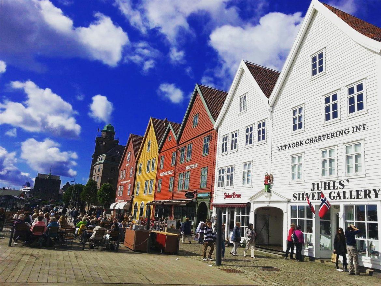 Bergen Bryggen Evleri