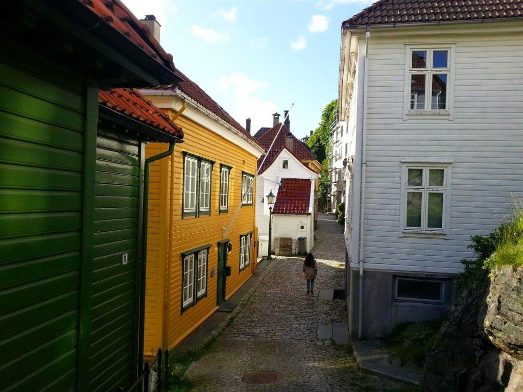 Bergen'in renkli sokakları