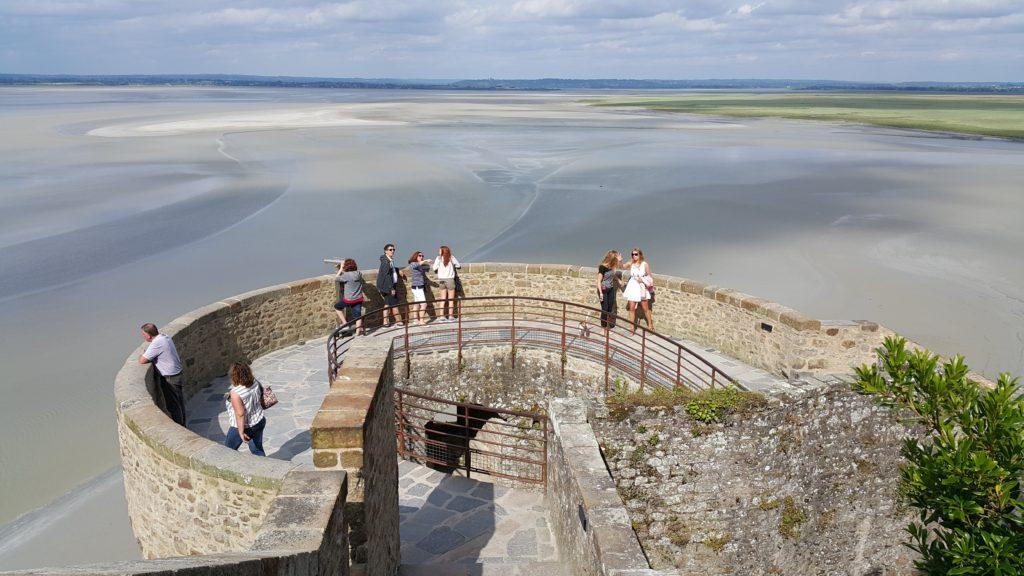 Mont Saint Michel Seyir Terası