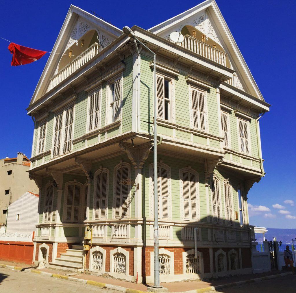 Mudanya Girit/Rum Mahallesindeki güzel evler