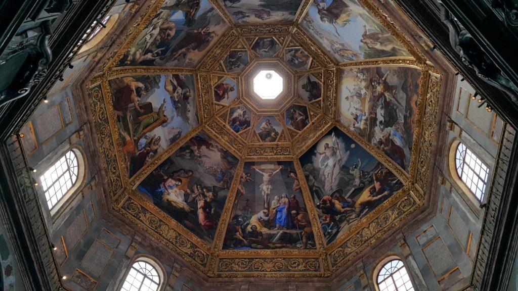 Medici Şapelinin tavanı