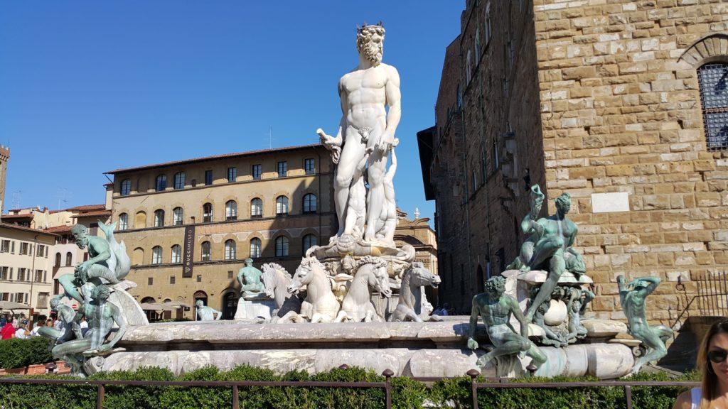 Signoria Meydanı-Neptün Çeşmesi